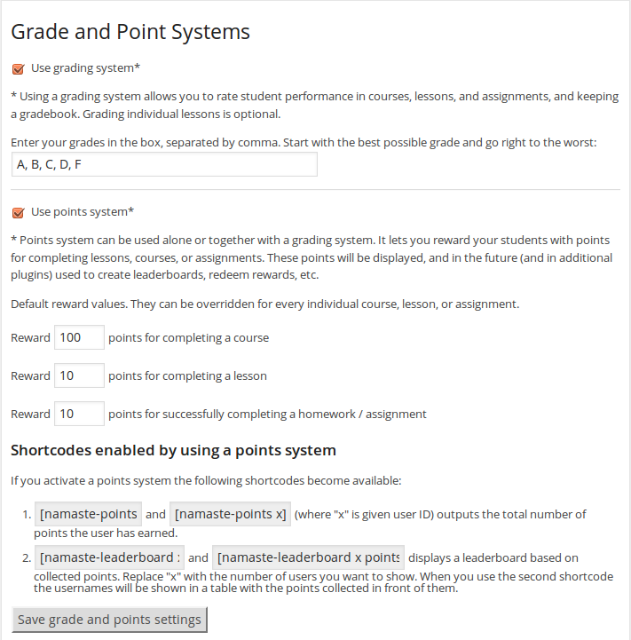 grade-points